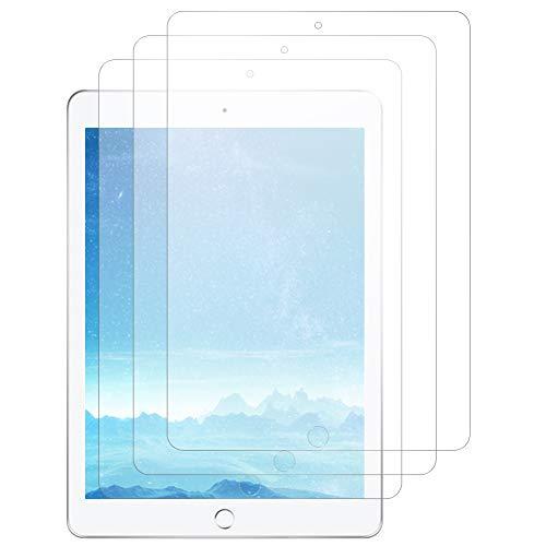 J&D Compatible para 3-Pack Protector de Pantalla para New iPad 9.7' 2017, [Anti reflejante] [Cobertura Completa] Mate Protector de Pantalla para New iPad 9.7in, iPad Pro 9.7in, iPad Air, iPad Air 2