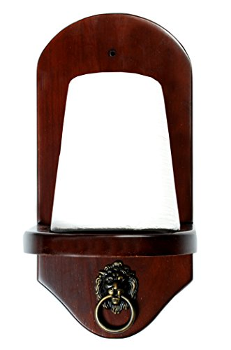 Iszy Billiards Wall Mount Pool Table Cone Chalk Holder with Chalk Mahogany Finish