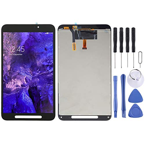 un known LCD Screen and Digitizer Full Assembly for Galaxy Tab Active / T360 (WIFI Version) Accessory Replace New Parts (Color : Black)