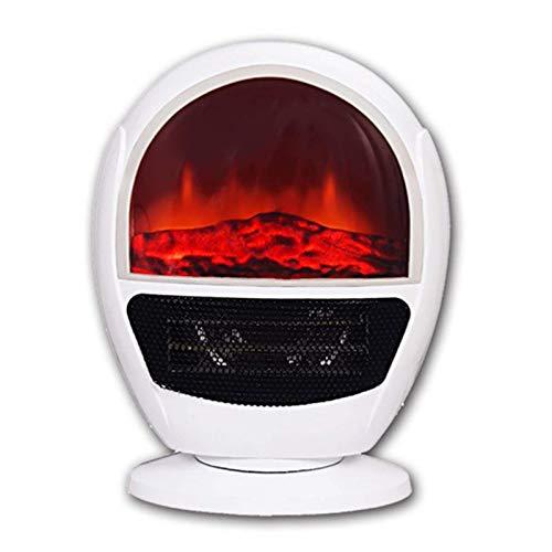 Calefactor Montaje en pared de la chimenea eléctrica calentador calentador portátil de alto rendimiento ajustable de inclinación del termostato de seguridad y protección contra sobrecalentamiento de c
