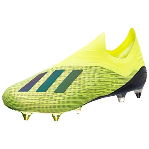 adidas X 18+ SG, Zapatillas de Fútbol Hombre, Amarillo (Syello/Cblack/Ftwwht Syello/Cblack/Ftwwht), 42 EU