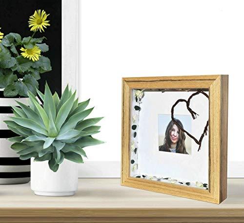 'Demiriola' tiefer 3D BILDERRAHMEN | FÜR 3D-Rahmen Fans | 5 Farben | 29x29x4,6Cm | Holz/Glas | Objektbilderrahmen zum befüllen | Garantie | für Objekte