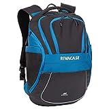 RIVACASE Laptoprucksack Notebookrucksack lichtreflektierende Reisetasche mit versteckten Taschen Rucksack für Schüler & Studenten Rucksack Laptop Notebook / 5225 Mercantour 39,6 cm (15,5 Zoll)