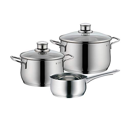 WMF Diadem Plus 0730636040 Cookware Set 3 Pieces