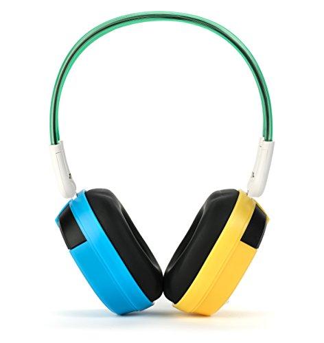 4124OkrUsrL - Bravo View IH-04A – Kid-Friendly Automotive IR Wireless Headphones (Single Source)