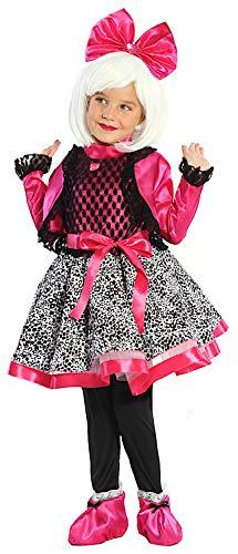 VENEZIANO Costume di Carnevale da Dolce Lolly Vestito per Bambina Ragazza 1-6 Anni Travestimento Halloween Cosplay Festa Party 51178 Taglia 7