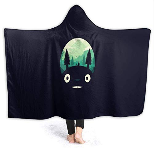 XiaLianNai-shop to-t-ORO 50 '' x60 Warm Hooded Adult Blanket mit weichem Flanell