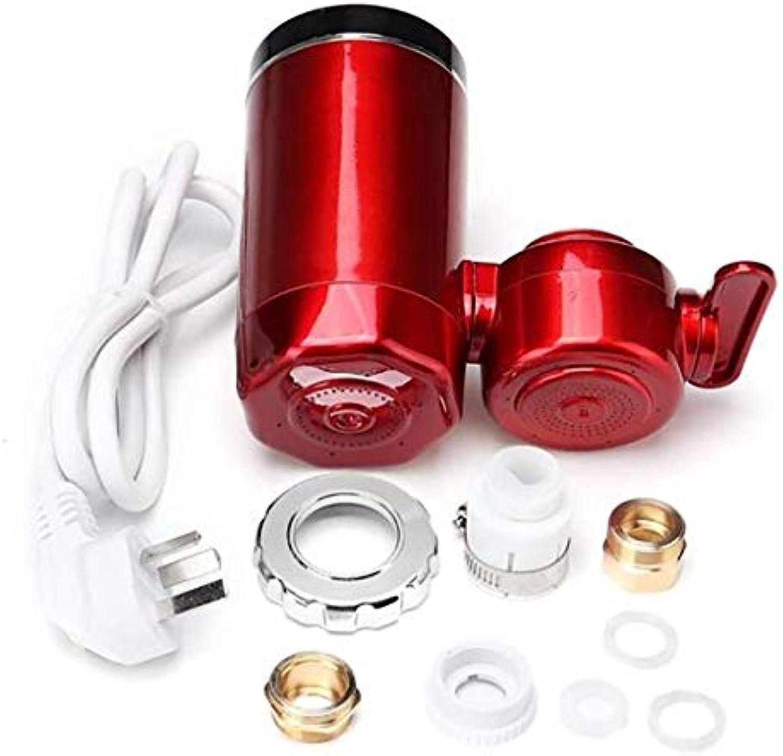 Elektrische Heiwasserhahn Durchlauferhitzer Elektrische Durchlauferhitzer Wasser Heizung Wasserhahn Digitalanzeige Instant Wasserhahn