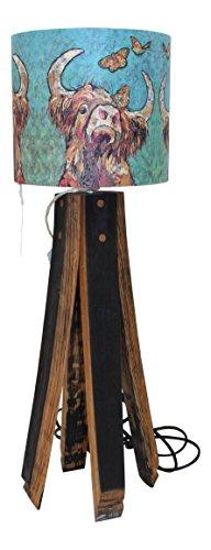 Reza - Lámpara de mesa (madera de roble)
