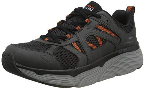 Skechers Max Cushioning Elite - Routine Charcoal/Orange 10 D (M)