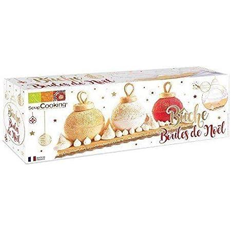 Bûche Boules de Noël