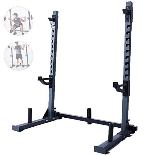 Support de squat Bench Press Support d'haltères de fitness pour hommes Étagère multifonctionnelle Support réglable Support de musculation à la maison Support de musculation Ne vendez que des étagères