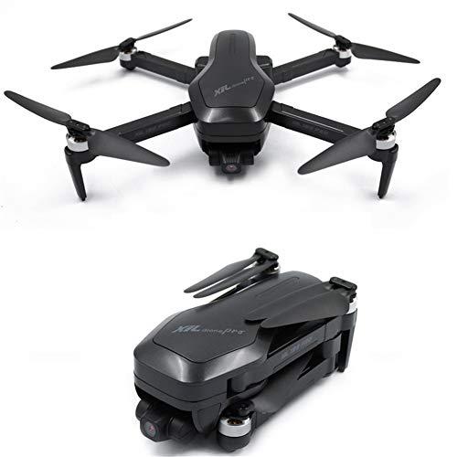 HUAXM WiFi GPS Drone avec caméra HD vidéo en Direct et GPS Retour Accueil Caméra Follow Me, Long Range contrôle réglable, Altitude Maintien Noir
