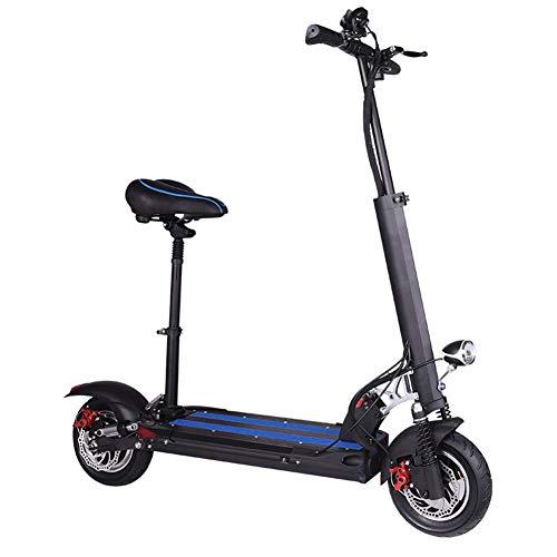 WM Scooter eléctrico Plegable 500w Motor de Alta Velocidad Aleación de Aluminio...