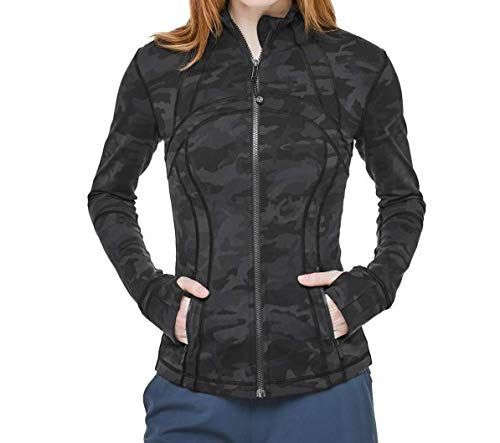 LULULEMON Define Jacket (Incognito Camo Multi Grey, 8)