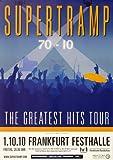 Supertramp Greatest Hits 2010 - Original Konzertposter,