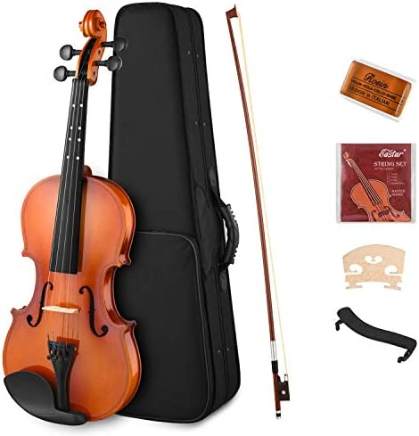 Eastar 1 2 Violin Set Half Size Fiddle EVA 2 for Kids Beginners Students with Hard Case Rosin product image