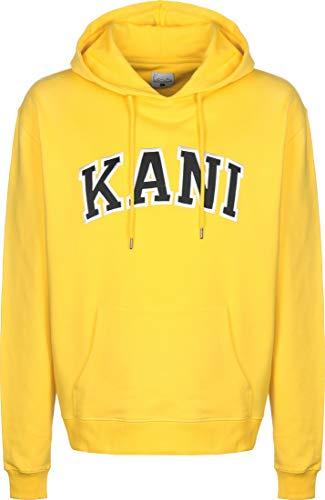 Karl Kani Herren Hoodies College gelb L