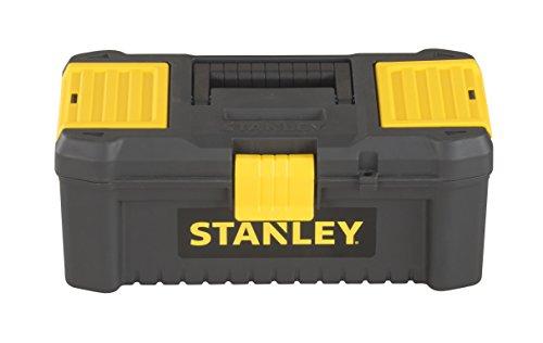 STANLEY STST1-75514 - Caja de herramientas de plástico con cierre de plastico, 32 x 17.5 x 13.3 cm