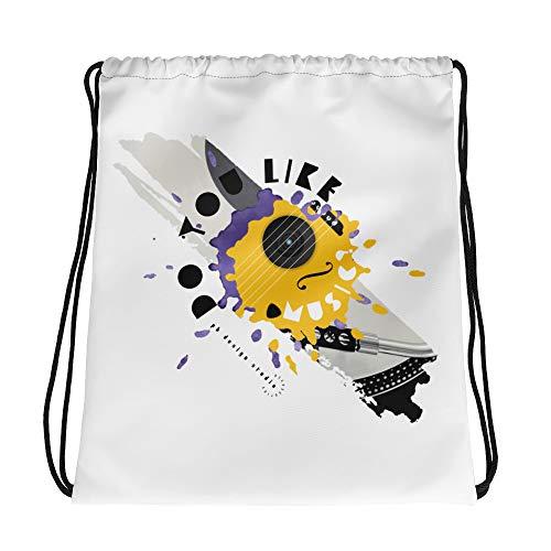 pb design studio Music - Drawstring bag