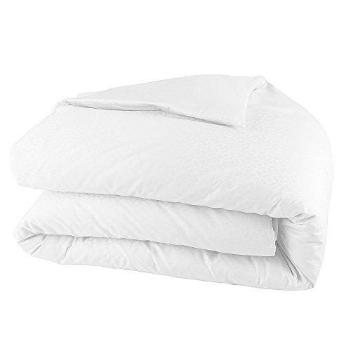 Jalla Housse de Couette, Coton, Blanc, 240x220 cm