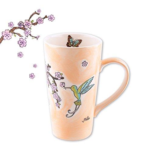 Mila Keramik-Becher, Caffee Latte, Kolibri | MI-83148 | 4045303831483
