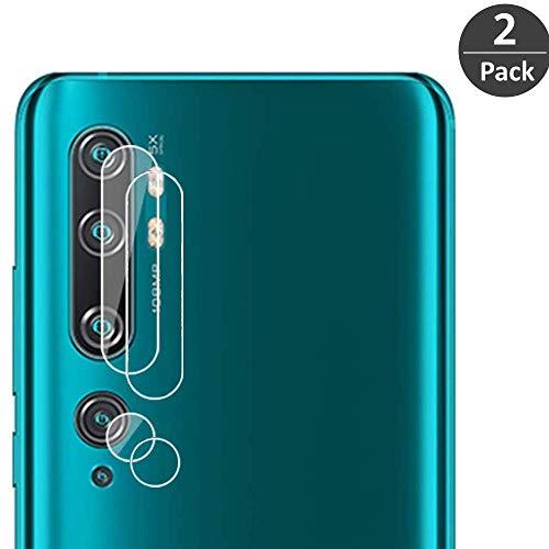 FiiMoo Kamera Schutzfolie Kompatibel mit Xiaomi Mi Note 10, [9H Härte] [Anti-Kratzen] [2.5D Folie] [Bubble Free], Kameraobjektive Schutzfolie für Moto One Marco