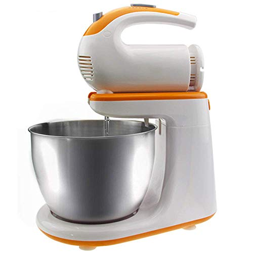 Save %34 Now! LEILEI Food Stand Mixer 2 in 1 Stand Mixer Handheld High Power Motor 5 Speed Options w...