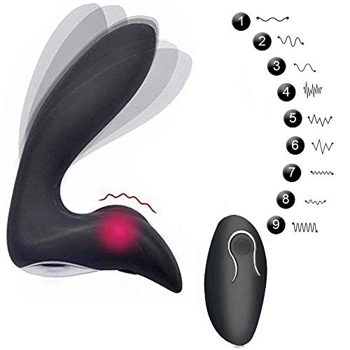 Electric Massager, for Man Body Massaging Prime Waterproof with Multiple Patterns S5 Black