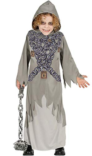 Ketten Geist Kostüm für Kinder Gr. 98 - 146, Größe:128/134