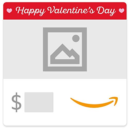 Amazon eGift Card - Your Upload - Valentine's Day Hearts