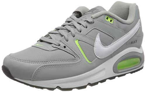 Nike Air MAX Command, Zapatillas para Correr Hombre, Lt Smoke Grey White Ghost Green Smoke Grey, 40.5 EU
