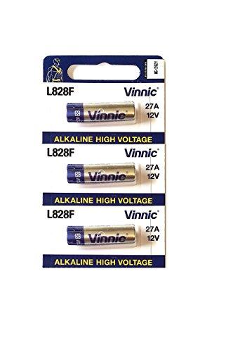 Pile 27A vinnic Haute Voltage 3 pièces 12v