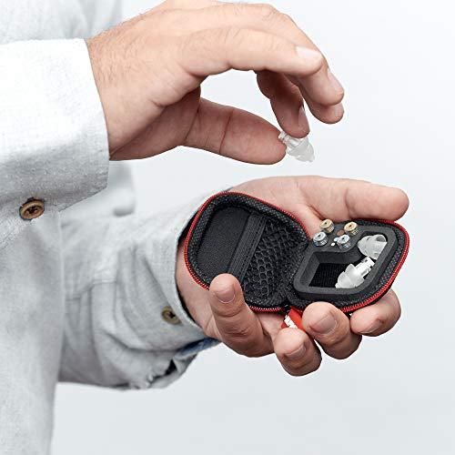 Alpine MusicSafe Pro Gehörschutz Ohrstöpsel für Musiker - Werte dein Musikerlebnis auf ohne Hörschäden zu riskieren - Drei austauschbare Filterstufen - Hypoallergenes & Wiederverwendbar - Transparent - 5