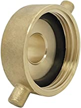 Happy Tree Brass Fire Hydrant Adapter with Pin Lug Brass Fire Equipment 1-1/2