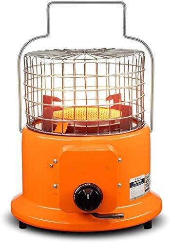 WYYW Fuego de Combustible de Gas portátil con regulador de Gas propano, Calentador de Patio Superior de Mesa, Placa de calefacción de cerámica de Panal, para Camping de calefacción al Aire Libre