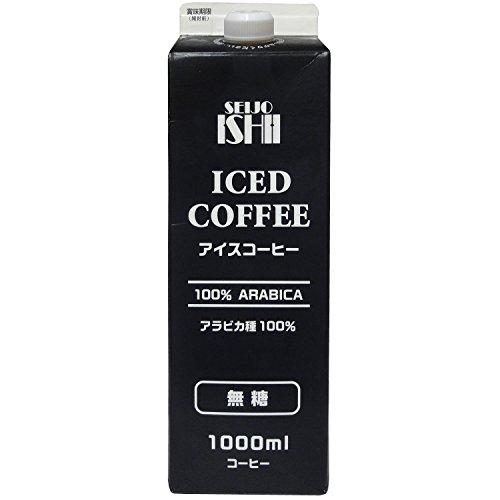 成城石井 アイスコーヒー 無糖 1000ml