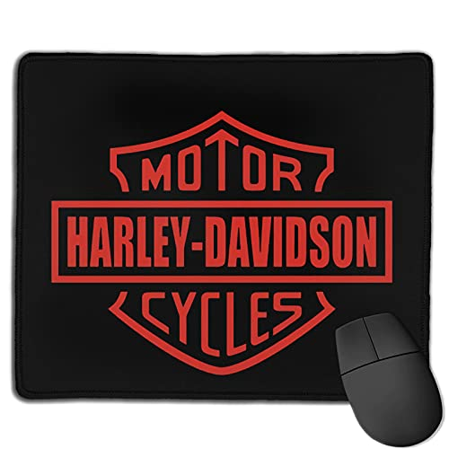 Poyxiya Harley Davidson, tappetino per mouse da scrivania, impermeabile, antiscivolo, per computer, 25 x 30 cm