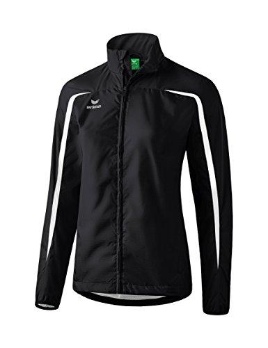 erima Damen Leichtathletik Laufjacke, schwarz/Weiß, 36