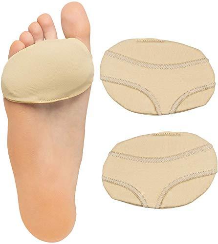 ZenToes Ball of Foot Pads Metatarsal Cushions for Metatarsalgia, Arthritis and Sesamoid Pain Relief 1 Pair (Large, Women 8-10, Men 9-11)
