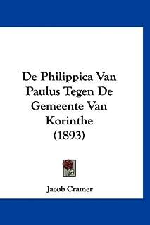 de Philippica Van Paulus Tegen de Gemeente Van Korinthe (1893)