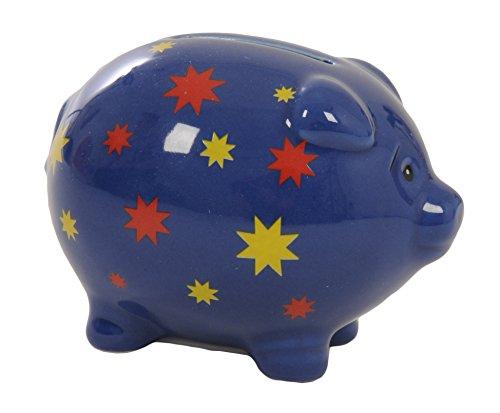 Tirelire en forme de cochon étoilé, Suki Gifts.