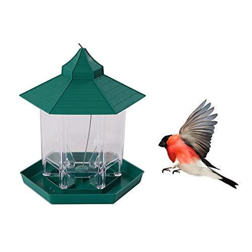 LIQUID Mangeoire à oiseaux à suspendre, mangeoire pour oiseaux, petite et moyenne taille, mangeoire à oiseaux, peut être suspendue dans le jardin, la cour, le balcon, la forêt.