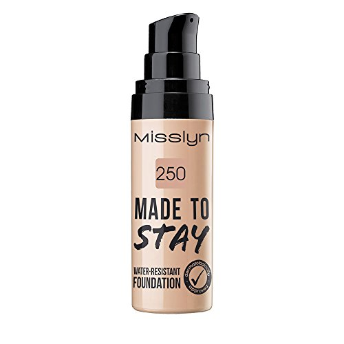 Misslyn Made To Stay Water-Resistant Foundation Nr.250 true beige, 25 ml