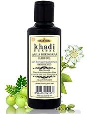 Herbal Khadi Amla & Bhringraj Hair Oil, 210 ml