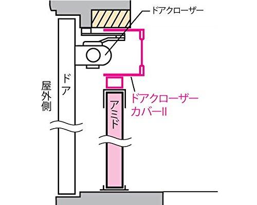 SEIKI ドアクローザーカバー NDC-90