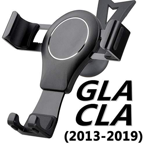 AYADA Handyhalterung für Mercedes CLA C117 und GLA X156, CLA Handyhalterung GLA Handyhalter Gravity Sperre Hände Frei Stabil Einfache Montage CLA Zubehör X156 Zubehör GLA Zubehör Accessories