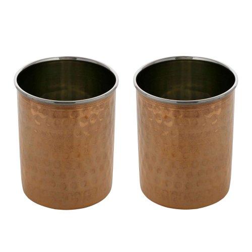 Verres indiens ensemble de deux verres