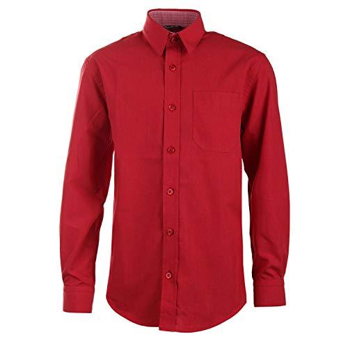 G.O.L. - Jungen festliches Hemd Langarm, rot - 5511900rot, Größe 170