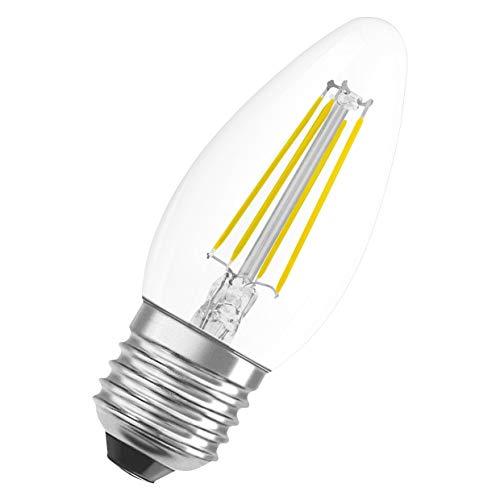 Preisvergleich Produktbild OSRAM LED Star Classic B,  Sockel: E27,  Nicht Dimmbar,  Warmweiß,  Ersetzt eine herkömmliche 40 Watt Lampe,  Filament